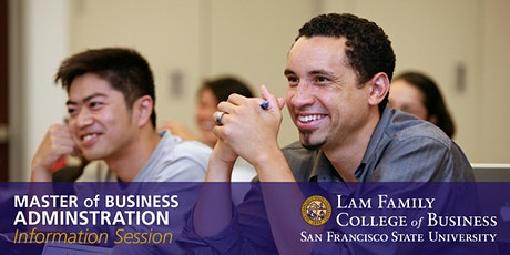 San Francisco State University - MBA Information Session (WEBINAR) tickets