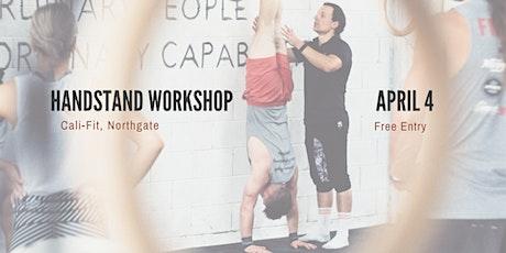 Free Handstand Workshop tickets