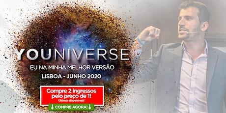 YOUniverse - Eu Na Minha Melhor Versão - LISBOA - Tiago Benevides bilhetes