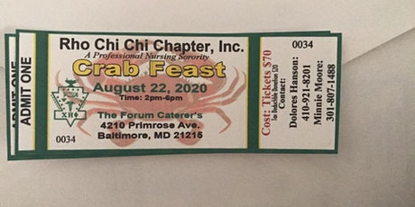 PXX Scholarship Crab Feast tickets