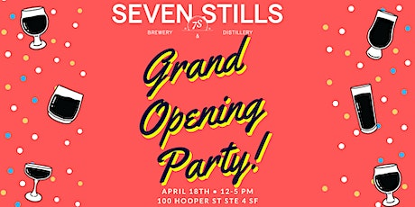 Grand Opening Party! tickets