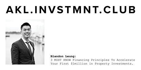 Fast track your financial freedom by building a property portfolio. tickets