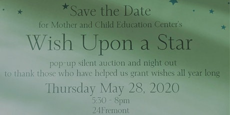 Wish Upon A Star - Pop Up Auction & Night Out Fundraiser tickets