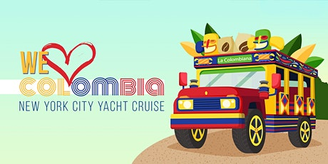 We <3 Colombia Celebration NYC Boat Party Yacht Cruise: Friday Night tickets