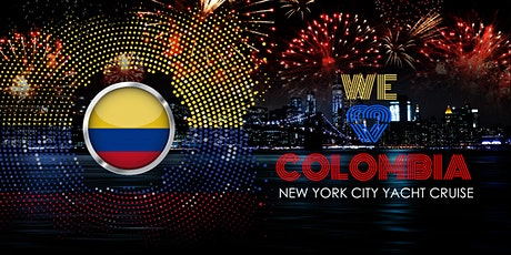 We <3 Colombia Celebration NYC Boat Party Yacht Cruise: Saturday Night tickets