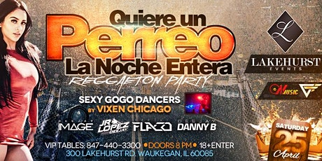 Quiere Un Perreo Reggaeton Party at Lakehurst Center tickets