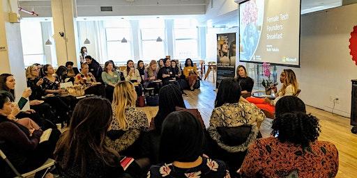 Female Tech Founders Virtual Breakfast