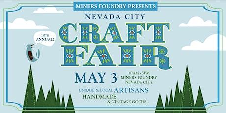 Nevada City Spring Craft Fair tickets
