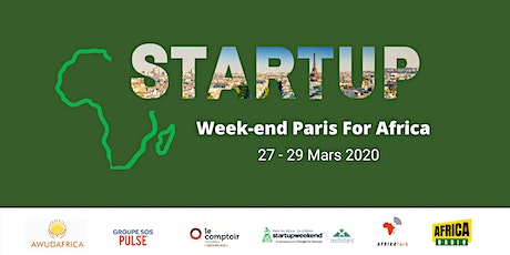 Startup Weekend Paris for Africa - 3ème Edition tickets