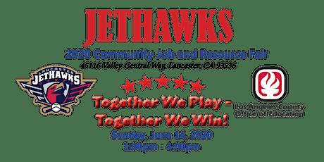 Jethawks 2020 Job & Resource Fair Vendor Application Request tickets