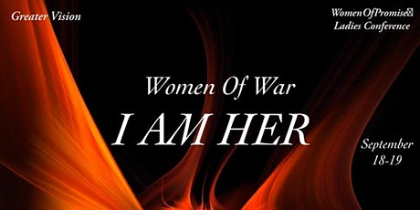 Women of War, I AM HER Ladies Conference tickets