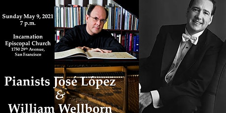 JOSÉ LÓPEZ AND WILLIAM WELLBORN, PIANO 4-HANDS -  The Beethoven 2020 Projec tickets