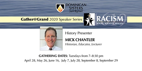 Gather@Grand with Mick Chantler: Founding Fathers of Slavery, Jefferson tickets