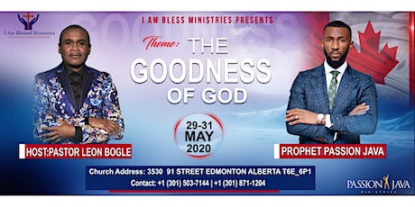 The Goodness of God - Prophetic Conference tickets