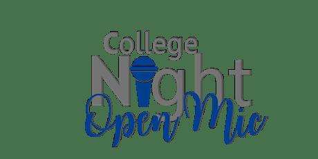 College Night Open Mic Ft. AKAs tickets
