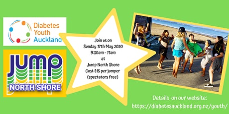 Diabetes Youth Auckland at Jump North Shore tickets