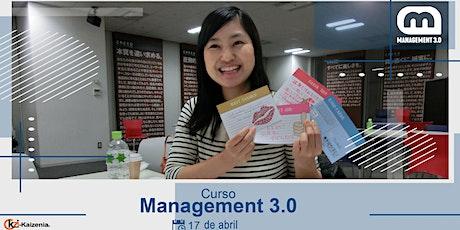 Curso Management 3.0 entradas