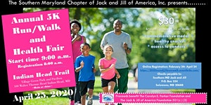 2020 SoMDJJ: 5K Run/Walk and Health Fair
