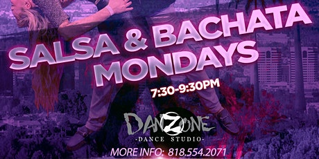 Monday Bachata & Salsa Lessons tickets