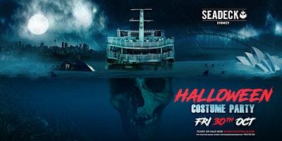 Seadeck  Halloween Cruise  Event – Friday  30th Oct