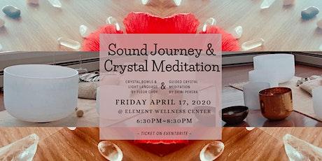 A Sound Journey & Crystal Meditation tickets