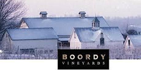 Boordy Wine Dinner tickets