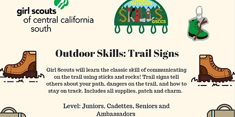 Outdoor Skills: Trail Signs - Fresno tickets