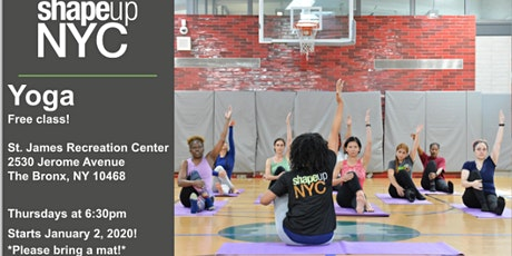 FREE Bronx Yoga tickets