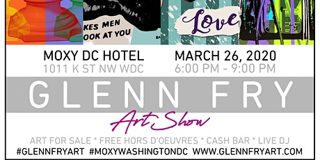 """For Sale:  LOVE"" a Glenn Fry Art Showcase tickets"