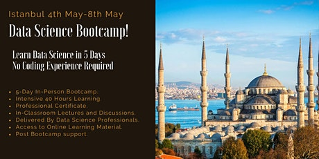 Data Science Boot Camp - Istanbul Tickets