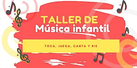 TALLER MÚSICA INFANTIL boletos