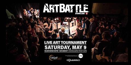 Art Battle Duncan - May 9, 2020 tickets