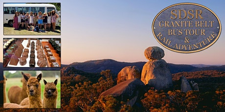 Granite Belt Country Tour - Train Warwick to Wallangarra via Stanthorpe lunch, Bus tour, Train home tickets