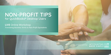 Non Profit Tips for QuickBooks Desktop Users tickets