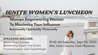 Ignite Women's Luncheon tickets
