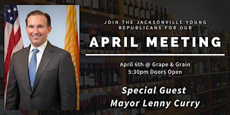 JYR April Meeting: Mayor Lenny Curry! tickets