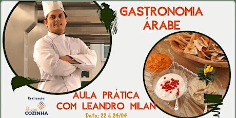 Gastronomia Árabe ingressos