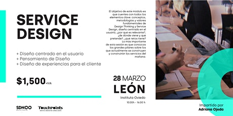 Masterclass: Fundamentos de Service Design  & Design Thinking - UNFOLDED boletos