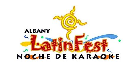 Albany LatinFest Noche De Karaoke tickets