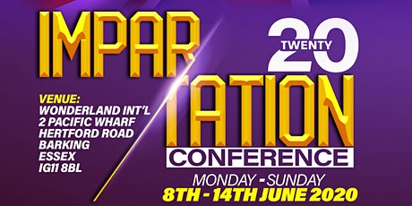 IMPARTATION CONFERENCE 2020 tickets