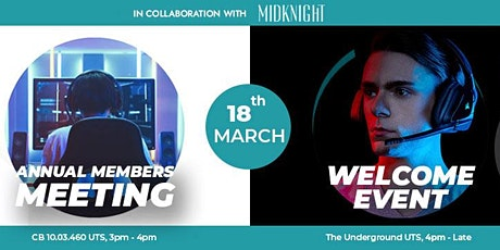 UTS Esports Members Meeting & Welcome Event (Presented by MIDKNIGHT) tickets