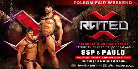RATED X - Saturday night main event- Folsom Fair weekend tickets