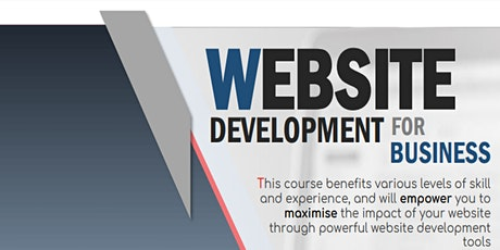 WEBSITE DEVELOPMENT FOR BUSINESS tickets