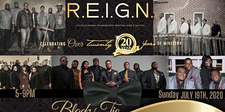 REIGN BLACK TIE AFFAIR: Celebrating over 20 Years Of Ministry tickets