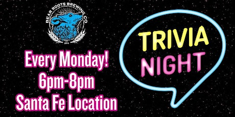 Bear Roots Brewing Trivia tickets