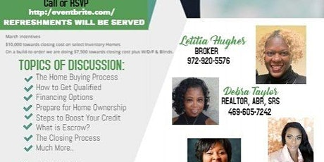 Home Buyer Seminar-An Introduction to The Home Buying Process tickets