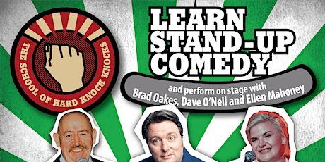 Learn stand-up comedy in Melbourne  this May with Dave O'Neil tickets