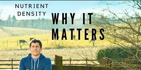 Nutrient Density: Why It Matters tickets