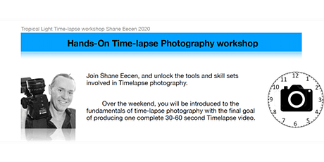 Tropical Light TIME-LAPSE Workshop with Shane Eecen tickets