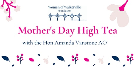 CANCELLED - High Tea with the Hon Amanda Vanstone AO tickets